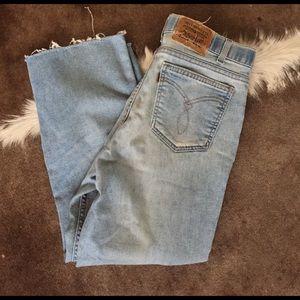 Vintage Levi Work Jeans Brown Tag 32x29